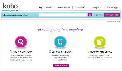 The problem with ebook services – How Kobo doesn't get it